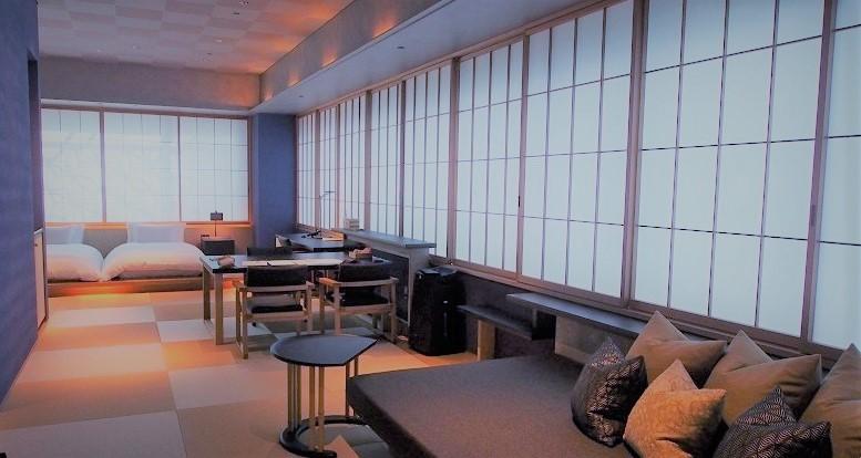 星のや東京_菊のお部屋